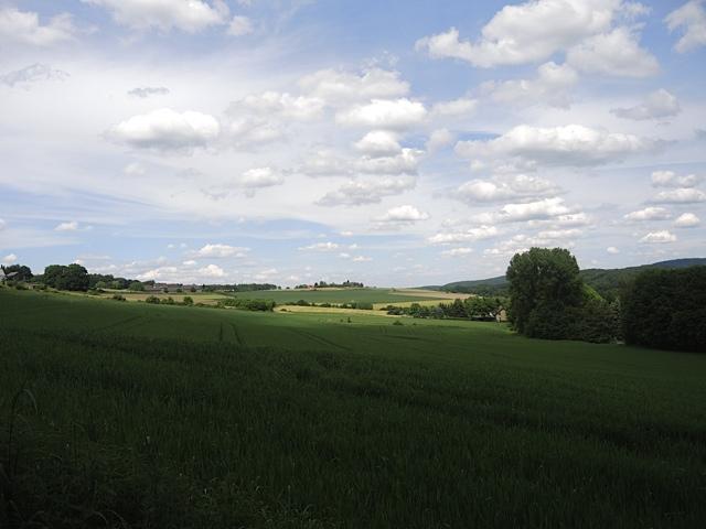 Weites Feld, Wolken
