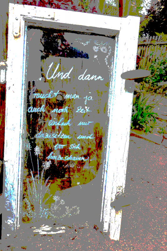 Weisheit in der Nähe des Naumburger Doms